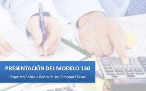 presentación del modelo 130